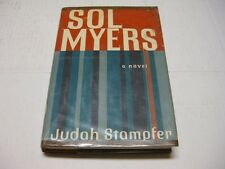 Sol Myers by Judah Stampfer AWESOME OLD JEWISH NOVEL