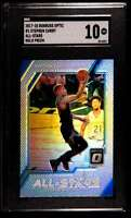 2017-18 DONRUSS OPTIC ALL-STARS HOLO PRIZM STEPHEN CURRY SGC 10