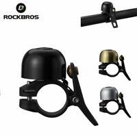 ROCKBROS Cycling Bike Bicycle Bell Aluminium Horn Mini Ring MTB Handlebar Bell