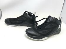 Mens Jordans (454486-006)  2011 Q Flight Sneakers Size 10.5 (28S)