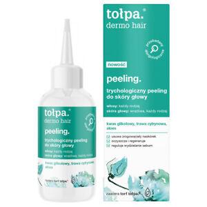 TOŁPA trychologiczny peeling do skóry głowy/ Trichological scalp peeling