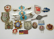 Sammlung Lot Anstecknadeln Pin DDR UDSSR Osten Deutschland