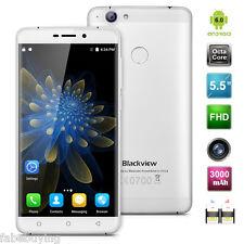 """5.5"""" Blackview R7 4G Smartphone 4GB+32GB Android 6.0 Octa-core 13MP Silver EU"""
