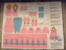 "Fabric Panel 15"" Cinderella Doll Panel Toy Decoration VIP Fabrics"