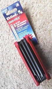 EKLIND folding imperial hex key set. 5/64 to 1/4 inch