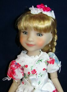 """**OOAK** ~ ROSE GARDEN ~  For  14.5"""" RUBY RED FASHION FRIENDS by Judy"""