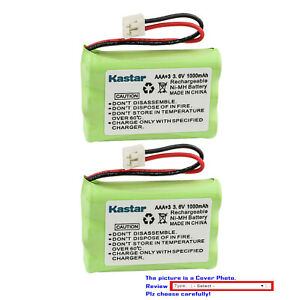Kastar Ni-MH Battery Replace for GE 28011 28021 28031 28041 28110 28111 28112