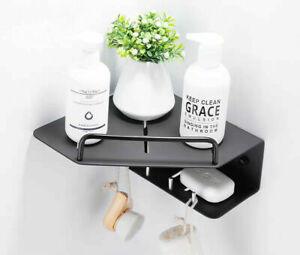 Bathroom Shelf Aluminum Storage Rack Corner Holder Shower Shampoo Basket Hot