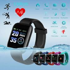 Pulseira Inteligente 116 Plus D13 frequência cardíaca Pressão Arterial Relógio De Pulso Relógio Smart IP67