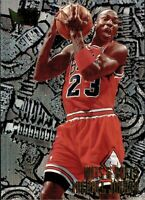 🔥🏀 1996-97 Fleer Metal #212 Michael Jordan - Nuts and Bolts - HOT & RARE!