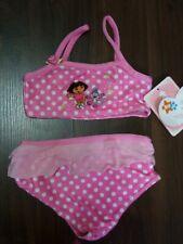 New Dora the Explorer Baby Two Piece Tankini Bikini Swimsuits 12M