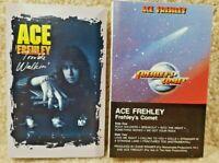 Vintage 1987 & 1989 Cassette Tape Lot Ace Frehley Trouble Walkin Frehley's Comet
