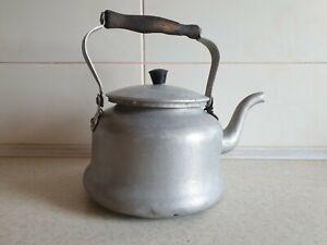 Soviet Original Aluminum Tea Pot Kettle 3L | 0.8 Gal Vintage Russian USSR