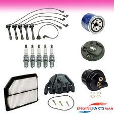 TK Fits 92-94 Acura Vigor L5 2.5L Tune Up Kit Filters Cap Rotor Plug Wire