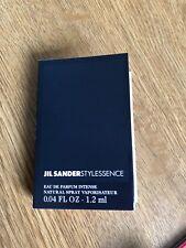 JIL SANDER - STYLESSENCE -1.2 ML Sample .04 Fl. OZ
