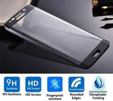 Samsung Galaxy S7 Edge BLACK 5D Clear HD Tempered Glass Screen Protector