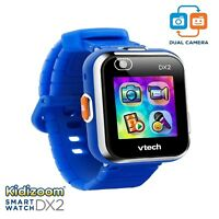 VTECH KiDiZOOM DX2 KID's SMART WATCH / GAMES / CAMERA VIDEO TOUCH SCREEN BLUE