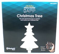 "Showhome App LIGHTS CHRISTMAS TREE PATHWAY DRIVEWAY STAKES 10"" Set Of 3"