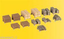 H0 Deko-Set Schnittholz, Modellwelten Bausatz 1:87, Kibri 38607