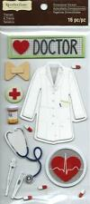 Recollections DOCTOR Chipboard 3d Scrapbook Stickers