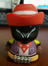 "CIBOYS COWBOY ""NOMI BLACK COWBOY"" Mini Toy Figure By Red Magic RARE!"