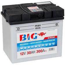 Motorradbatterie 12V 30Ah 300A/EN BIG 53030 Rasentraktor