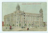 Postcard Municipal Technical Institute Belfast Antrim 1915 ?