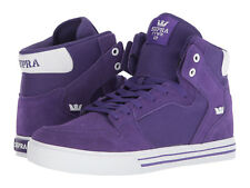 NEW SUPRA VAIDER PURPLE WHITE SURF BMX SNOW HIP HOP SKATEBOARD SPORTS SHOES 13