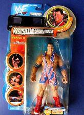 (NEW) 2001 WWF JAKKS Pacific  WRESTLEMANIA XVII (SERIES # 9)  KURT ANGLE