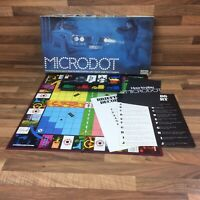 Microdot 1970S Vintage Spy Board Game by Parker Original box Espionage