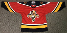 Vintage 90s Authentic Florida Panthers Jersey NHL Blank CCM Made In Canada