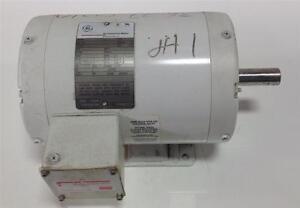 GE COMMERCIAL MOTOR FRAME143T, 208/230/460 V, 3 PH, 1725 RPM 5KS49UN8322A