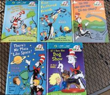 Dr Seuss Book Lot of 5. Ages 5-8 Cat in the Hat Learning Library Hardcover