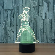 Anime Naruto Uzumaki Naruto 3D Night Light LED Lights Table 7 Color Change Lamps