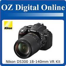 New NIKON D5300 18-140mm VR Kit Full HD 24MP DSLR 1 Year Au Wty
