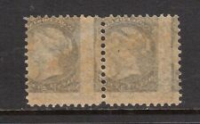 Canada #34 XF/NH With Strong Offset On Reverse Variety **With Certificate**