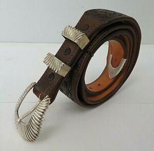 James Reid LTD sterling Silver Belt Buckle Navajo