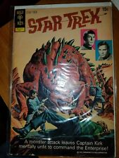Star Trek #14 1972- Gold Key comics- Spock Kirk VERY GOOD COND.