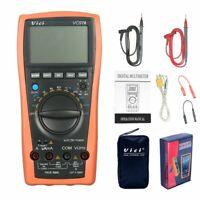 Digital Multimeter VC97A Auto Range 1000V DMM Temperature Detector DC AC Voltage