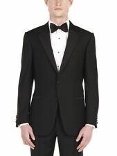 Neues AngebotGieves & Hawkes Savile Row schwarz Wolle Dinner Smoking Anzug Jacke uk42l eu52l NEU