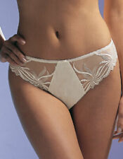 FANTASIE LILY THONG, 6170, IN IVORY BORDEAUX CRANBERRY, BNWT