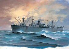 SS Jeremiah O'brein Liberty Ship 1:700 Plastic Model Kit TRUMPETER