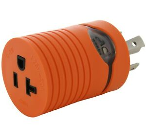 Generator Outlet Adapter NEMA L14-30P to 20 Amp NEMA 5-20R by AC WORKS®