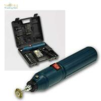 Mini Bohrmaschine DrillX mit Akku Gravurset Schleifset 60 teilig mit Zubehör