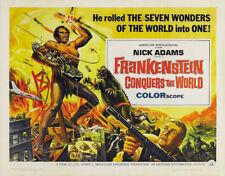 Frankenstein vs Godzilla Japanese Horror movie poster 3