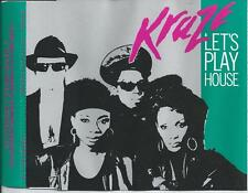 KRAZE - Let's play house CDM 4TR Euro House 1989 (TORSO) WEST GERMANY