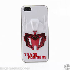 White / Red 3D Transformers Optimus Prime iPhone SE 5S 5G 5 3D Plastic Full Case