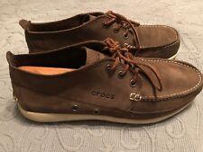 Crocs Brown Low Chukka Boat ShoesMen 10