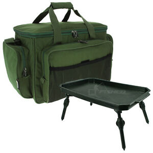 Fishing Tackle Bag & Bivvy Table Lightweight Extendable Legs Terminal Tackle NGT