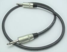 3 ft guitar speaker cable 14 guage 1/4 in 6.35mm plugs for amp cabinet ProCo